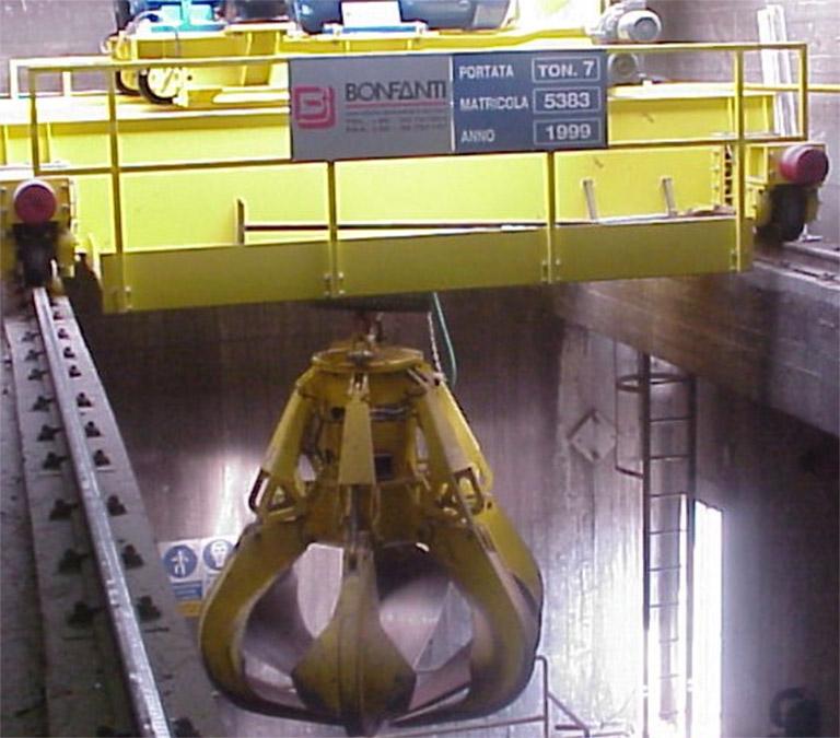 bumper-on-crane